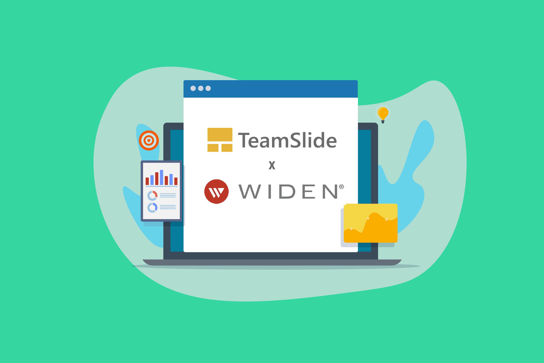 TeamSlide and Widen digital asset management integration