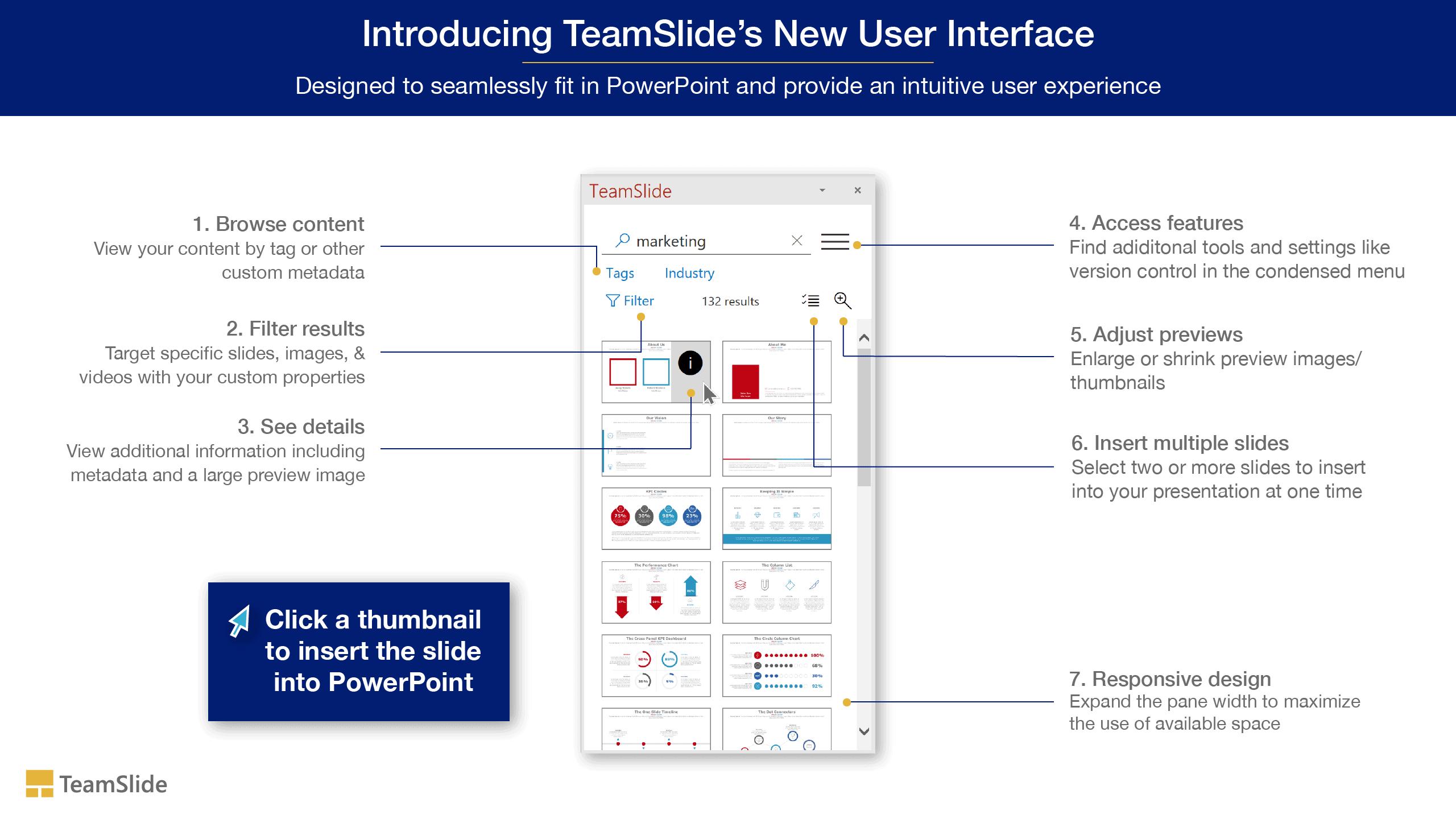 Introducing TeamSlide's new UI