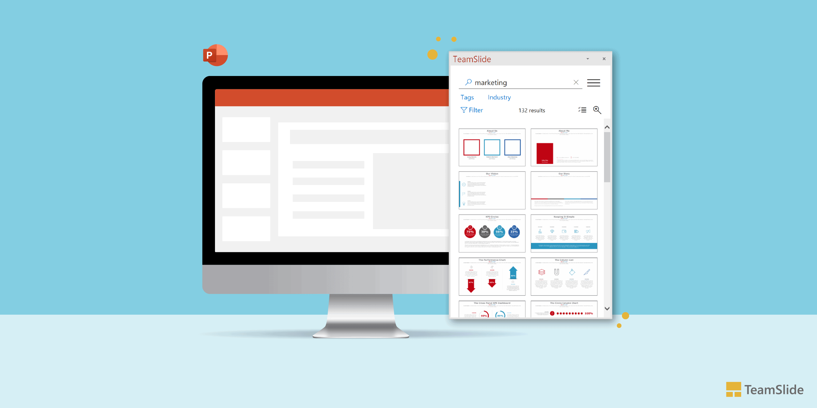 TeamSlide introduces new UI