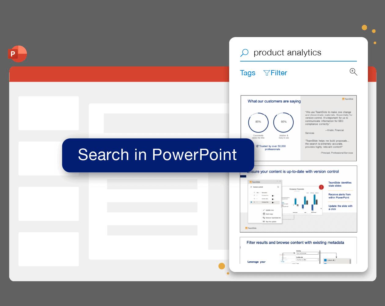 TeamSlide PowerPoint slide management